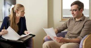 working with a psychiatrist